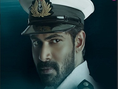 The Ghazi Attack first look: Rana Daggubati looks rugged and confident as a naval officer