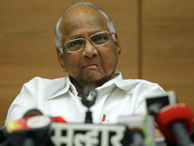 File image of NCP chief Sharad Pawar. Reuters