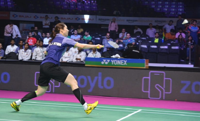 Mumbai Rocket's Ji Hyun Sung. Image courtesy: pbl-india.com
