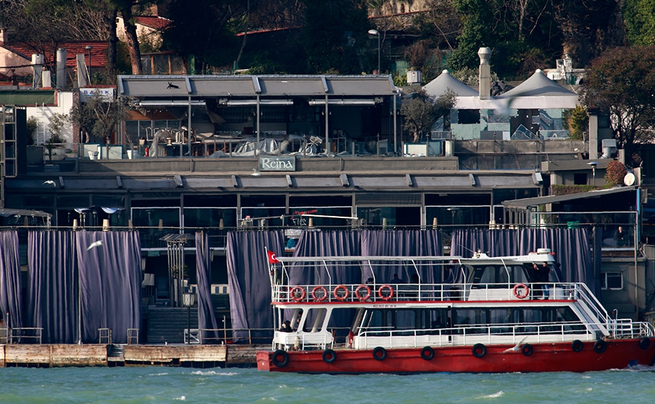 The assailant shot dead a policeman and a civilian at theclub entrance and then went on the rampage inside where up to 700 people were ringing in the New Year. As many as 11 Turks and were killed as the horrific massacre unfolded near the Bosporus Strait, prompting a rescue operation by the Coast Guard. Others were citizens from Israel, France, Tunisia, Lebanon, India, Belgium, Jordan and Saudi Arabia. AP