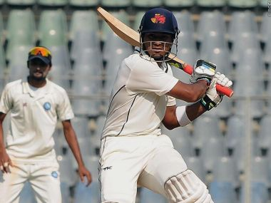 File photo of Mumbai captain Aditya Tare. Image courtesy: BCCI