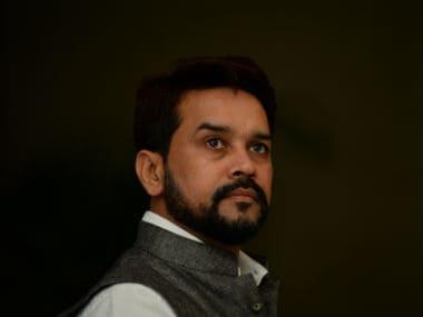 File photo of Anurag Thakur. AFP