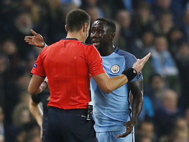 File picture of Bacary Sagna (R). Reuters