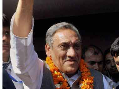 Vijay Bahuguna defected from Congress to join BJP. PTI file image