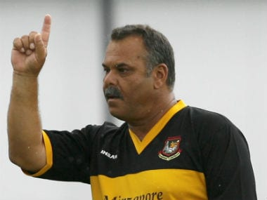 File photo of Dav Whatmore. Reuters