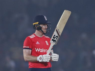 England captain Eoin Morgan top-scored for his side with a 38-ball 51. AP