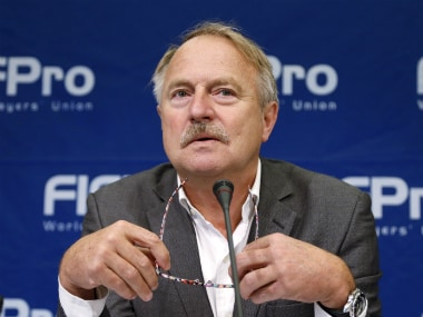 File photo of FIFPro president. Reuters