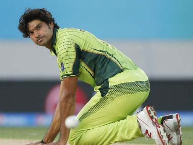 File photo of Pakistan seamer Mohammad Irfan. Reuters