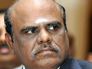 File image of CS Karnan. Bar and Bench