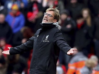 File photo of Liverpool manager Jurgen Klopp. AP