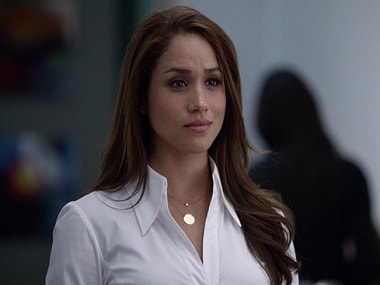 Meghan Markle in a still from 'Suits'