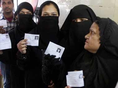 Muslim attitudes towards BJP are changing in Uttar Pradesh. PTI