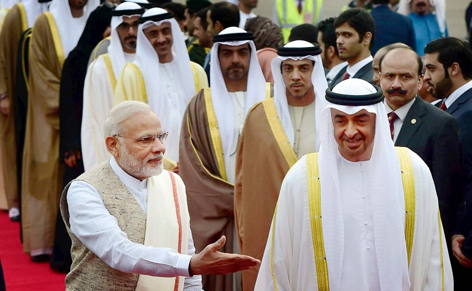 This is Sheikh Mohamed's second visit to India after his visit in February 2016. PTI