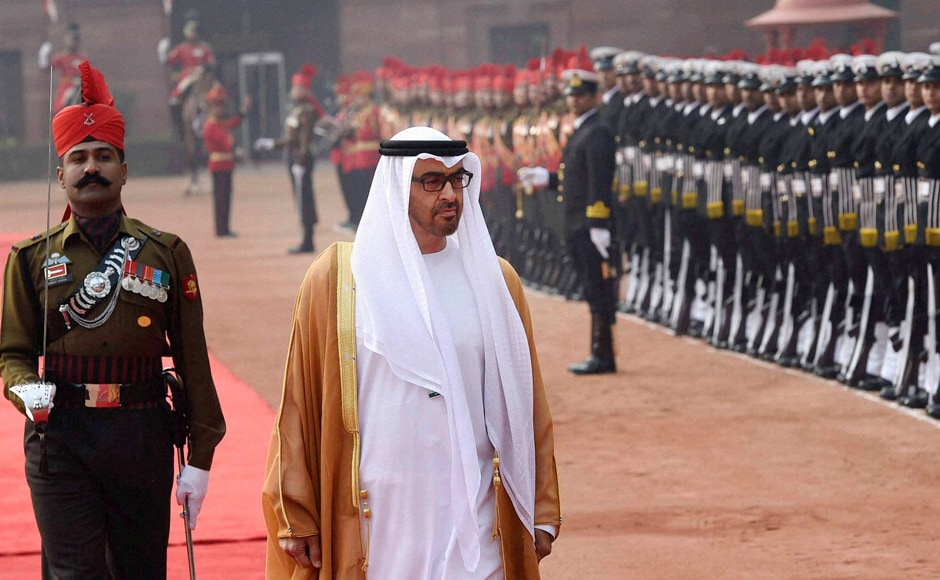 It was the first prime ministerial visit from India to the UAE in 34 years after the visit of then Prime Minister Indira Gandhi in 1981. PTI
