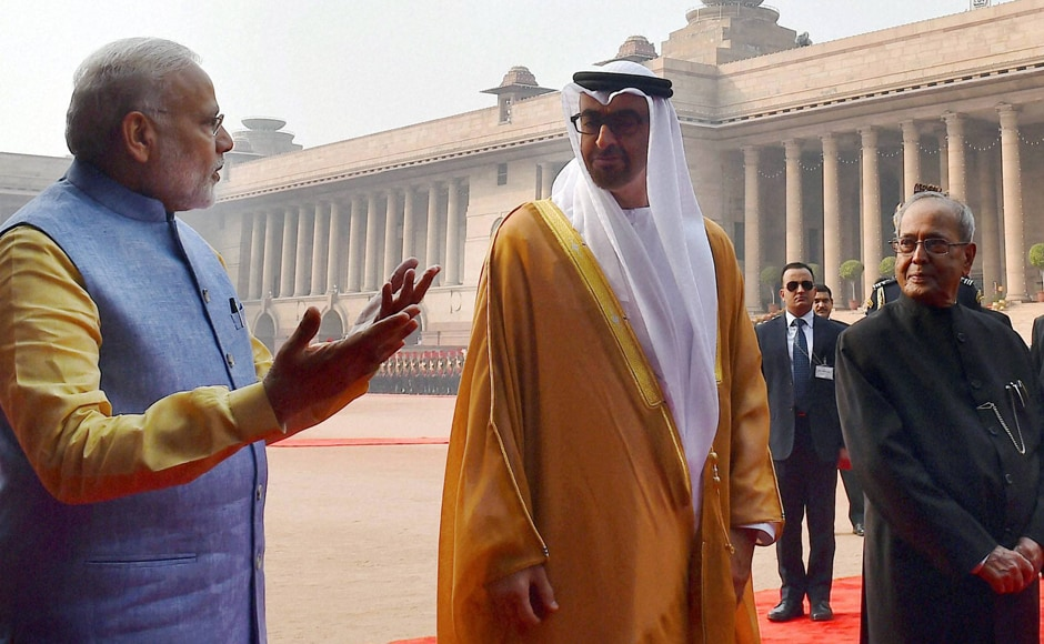 Ties between India and the United Arab Emirates (UAE) have been on the upswing ever since Modi made a historical visit to the Gulf nation in August 2015. PTI