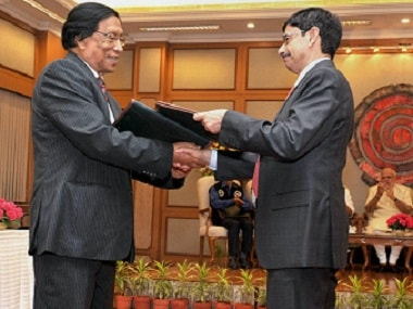 Prime Minister Narendra Modi witnessing the exchange of the historic peace accord between the Indian government and NSCN. PTI.