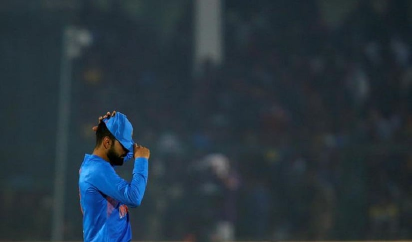 Cricket - India v England - First T20 International - Green Park Stadium, Kanpur, India - 26/01/17 - India's captain Virat Kohli reacts in the field. REUTERS/Danish Siddiqui