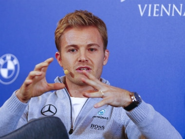 File photo of former Mercedes driver Nico Rosberg. Reuters