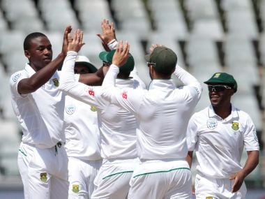South Africa won the second Test against Sri Lanka. AFP