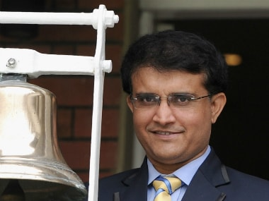 File photo of Sourav Ganguly. GettyImages