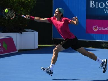 Tommy Haas in action earlier this month. AFP
