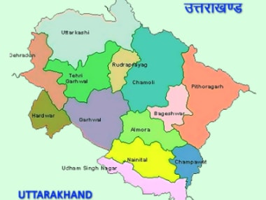 Uttarakhand's regions. Image Courtesy: Election Commission