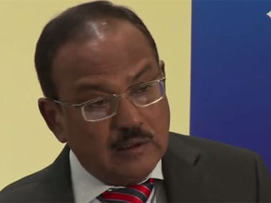 Ajit Doval. Screenshot from YouTube video