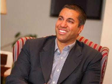 Ajit Pai. Photo courtesy Twitter
