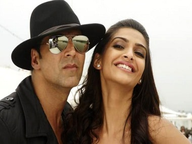 Akshay Kumar and Sonam Kapoor in a still from their previous film Thank You. Twitter