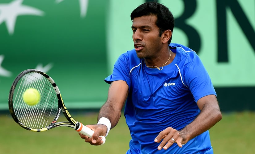 Rohan Bopanna's season continued on a downward spiral even after the Olympics, and he finished 2016 ranked 28th in the world. AFP