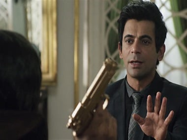 Sunil Grover in a still from 'Coffee with D'