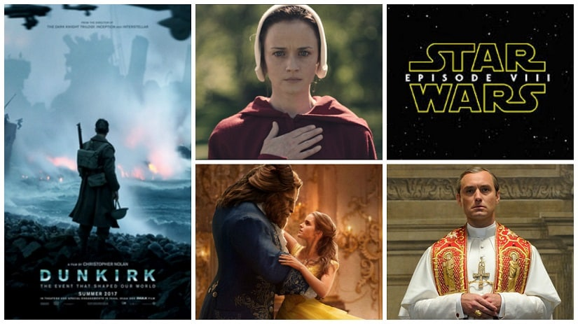2017 has lots to offer in films and television
