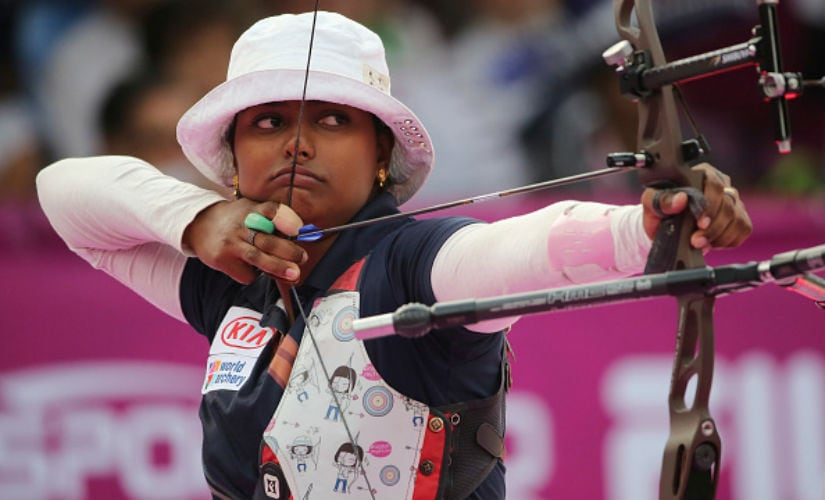 Deepika Kumari, considered India's prodigal daughter in the field of archery, however could not live up to her billing. Getty Images