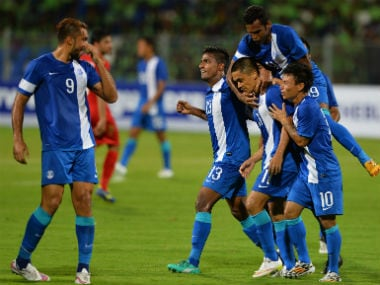 India will lok to qualify for the Asian Cup Finals for the first time since 2011. AFP