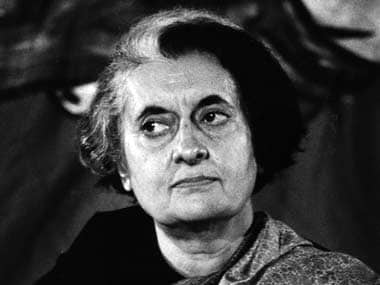 File photo of former Prime Minister Indira Gandhi. Agencies