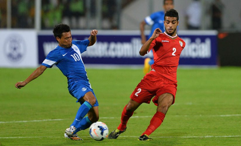 A lacklustre I-League campaign followed by an equally quiet ISL meant Jackichand Singh (L) failed to live up to the hype. Getty Images
