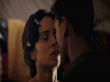 Kangana Ranaut and Shahid Kapoor in a still from Ye Ishq Hai. YouTube