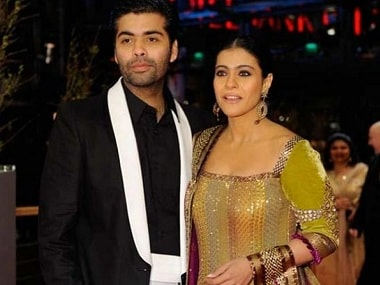 Karan Johar with Kajol. News 18/File Photo
