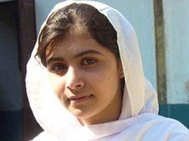 File photo of Malala Yousafzai. AFP