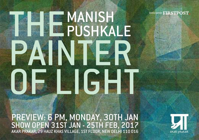 Manish Pushkale's 'The Painter of Light' is being presented in association with Firstpost