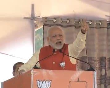 Prime Minister Narendra Modi in Jalandhar.