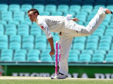 File photo of Australian spinner Steve O'Keefe. AFP