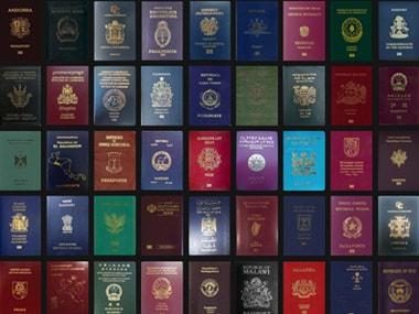 Passports from around the world Image: passportindex.org