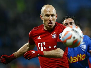 File photo of Arjen Robben. Reuters