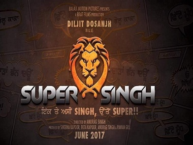 The poster of Super Singh. Twitter