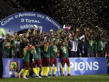 Vincent Aboubakar's late strike seals Cameroon's fifth AFCON title. AP