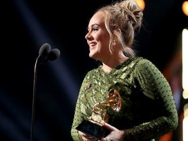 Adele+accepting+grammy