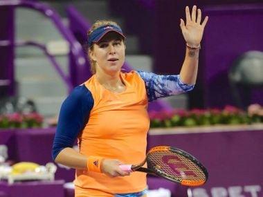 Anastasia Pavlyuchenkova defeated former world number one Jelena Jankovic in straight sets, 6-1, 6-4. Image courtesy: Facebook/@qatartennis