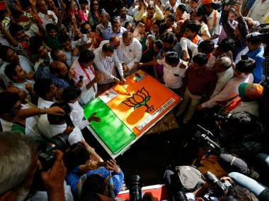BJP is set for a comfortable win. Representational image/Reuters