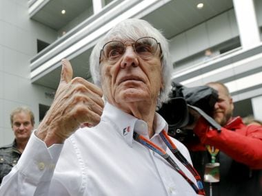 File photo of former Formula One chief Bernie Ecclestone. Reuters